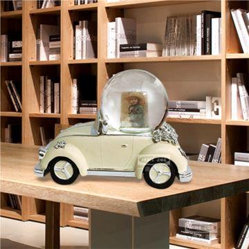 环保树脂相片水晶球八音盒音乐盒首饰盒创意生日结婚礼物送男女朋友