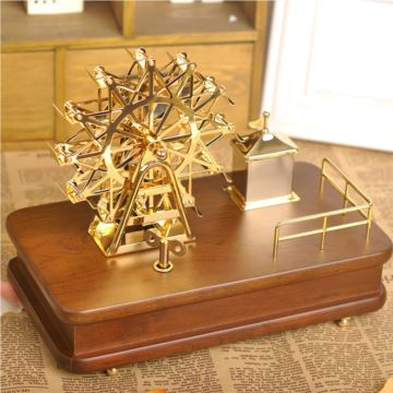 进口高端幸福摩天轮音乐盒八音盒高档大气创意送女生日闺蜜诞礼物精品