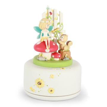 音乐盒八音盒女生生日礼物送女友女孩花仙子创意旋转儿童节礼物