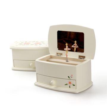 芭蕾舞跳舞女孩旋转八音盒音乐盒相框首饰盒创意生日母亲节礼物送女生