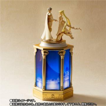 日本进口万代美少女战士倩妮迪公主带灯八音盒音乐盒限量收藏版