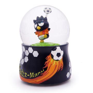 Jarll赞尔漂亮片雪花企鹅踢足球水晶球八音盒音乐盒创意生日情人节礼物