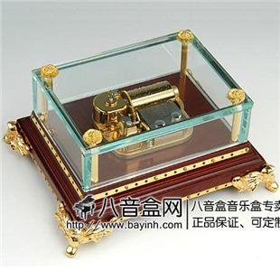 雷曼士30音八音盒音乐盒Y30B3L5高档创意商务送领导礼物精品可定制特别