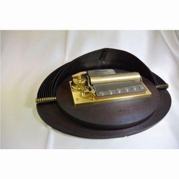 瑞士原装御爵REUGE72音木质八音盒音乐盒创意生日商务礼品送男生老公