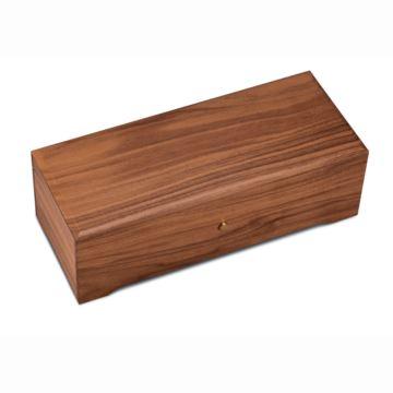 瑞士原装御爵REUGE144音胡桃木八音盒音乐盒商务礼品送领导限量收藏品