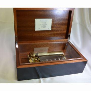 瑞士原装御爵REUGE72音木质八音盒音乐盒生日商务礼品送老公领导高档精品