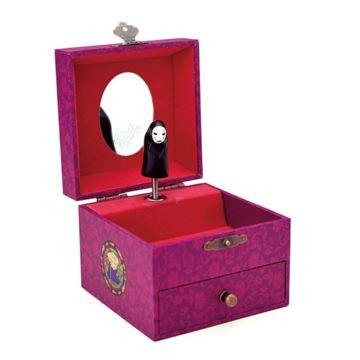 日本进口Sankyo旋转首饰盒八音盒音乐盒创意生日情人节礼物送女生