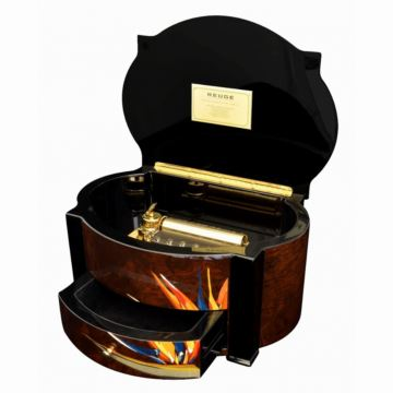 瑞士原装御爵REUGE72音木质八音盒音乐盒创意商务礼品限量收藏版卡农