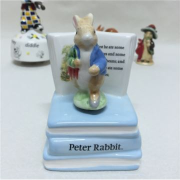 ILOVEST陶瓷彼得兔旋转八音盒音乐盒创意生日圣诞节礼物送男女生
