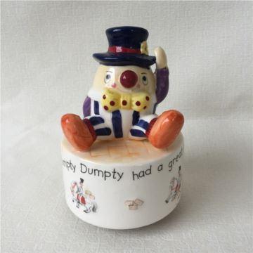 ILOVEST陶瓷小丑旋转八音盒音乐盒创意生日圣诞节礼物送男女生