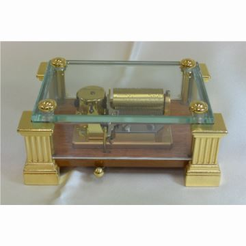 瑞士原装御爵REUGE36音玻璃八音盒音乐盒创意生日商务礼品送老公男生