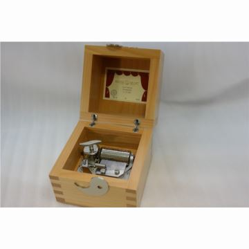 瑞士原装御爵REUGE36音木质八音盒音乐盒创意生日礼物送男女生