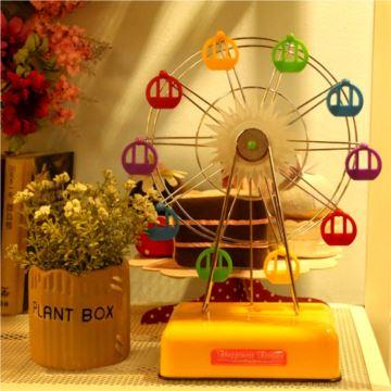 ILOVEST旋转摩天轮八音盒音乐盒创意生日情人节礼物送男女朋友