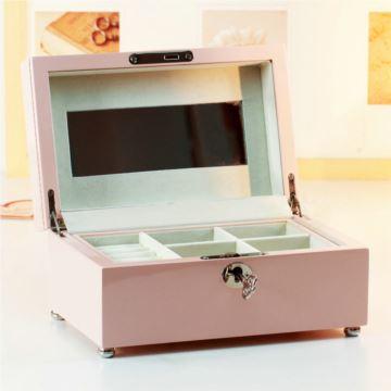 万山木质首饰盒八音盒音乐盒创意生日结婚纪念品七夕情人节礼物送女生