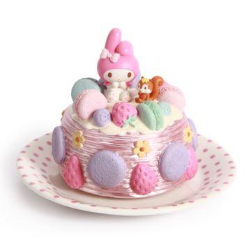 Jarll赞尔碟子蛋糕Hellokitty旋转八音盒音乐盒创意生日圣诞节礼物送女生