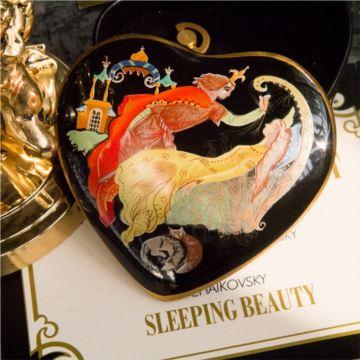 陶瓷彩绘芭蕾八音盒音乐盒创意生日圣诞节礼物送男女生限量收藏版
