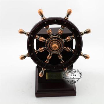 雷曼士木质30音船舵音乐盒八音盒Y30R2高档大气商务送领导礼物精品收藏