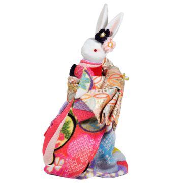 日本小樽陶瓷和服兔子八音盒音乐盒创意生日情侣七夕结婚礼物特别