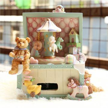 ILOVEST18音旋转木马宝盒音乐盒八音盒创意生日圣诞儿童节礼物送男女生