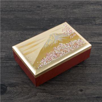 日本原装进口樱花富士山木质八音盒音乐盒创意生日结婚礼物送老婆女生