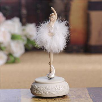旋转芭蕾舞女孩跳舞八音盒音乐盒创意生日情人节礼物送闺蜜女生特别