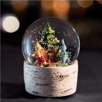 发条式森林雪花水晶球八音盒音乐盒天空之城创意生日情人节礼物特别