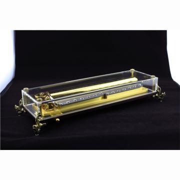 雷曼士156音高档水晶八音盒音乐盒商务创意送女生日领导礼物Y156LC1精