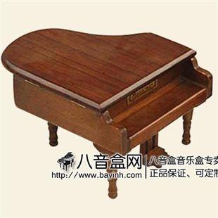 韵升正品至音源木制18音三角钢琴八音盒 音乐盒Y10002