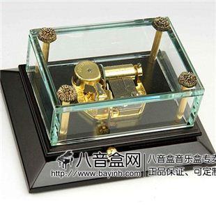 雷曼士18音木质八音盒音乐盒YB8LB商务创意送女生领导礼物可定制精品