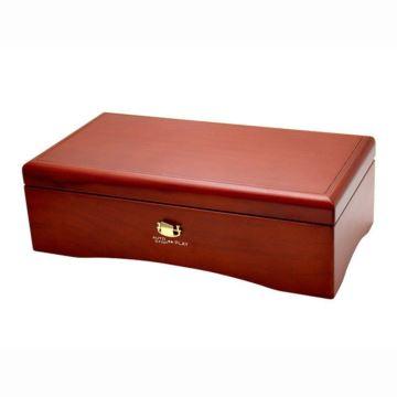 日本进口SANKYO72音木制八音盒音乐盒卡农创意生日结婚礼物颂女生女友