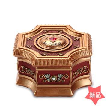 赞尔Jarll首饰珠宝盒八音盒音乐盒创意生日情人节圣诞节礼物送女生老婆