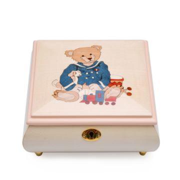 日本进口30音木质八音盒音乐盒天空之城创意生日结婚礼物送男女生