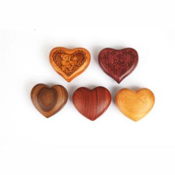 Sankyo高档木质心形八音盒音乐盒创意生日情人节七夕节礼物送男女生浪漫