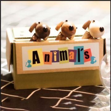 日本Sankyo进口可爱萌宠猫狗八音盒音乐盒创意生日圣诞节礼物送男女生