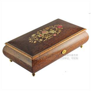 雷曼士50音木质首饰八音盒音乐盒Y50MS1-A高档创意送女情人节礼物精品收藏