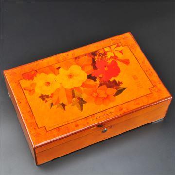 实木钢琴烤漆木质首饰盒珠宝盒五金锁情人节圣诞节结婚礼物送老婆女生
