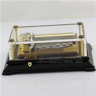 雷曼士50音水晶音乐盒八音盒Y50LBC1高档创意商务送女领导礼物精品收藏