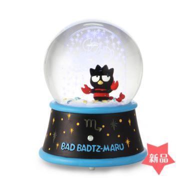 JARLL天蝎座飘亮片雪花水晶球八音盒音乐盒创意生日情人节礼物十二星座