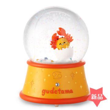 Jarll巨蟹座飘亮片雪花水晶球八音盒音乐盒创意生日情人节礼物十二星座