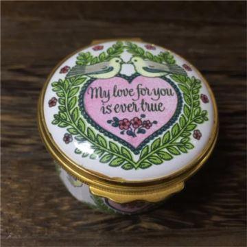 限量特别版搪瓷瓶首饰盒珠宝盒1980年情人节七夕节创意生日礼物送女生