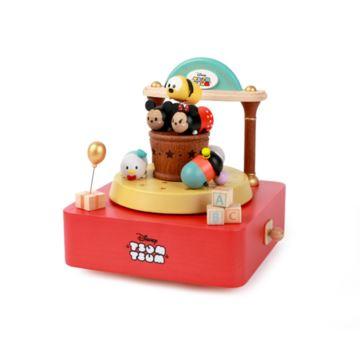 Jeancard迪士尼TSUM玩具店台湾木质音乐盒创意八音盒送儿童女生礼物