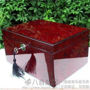进口30音木质首饰盒八音盒音乐盒创意送闺蜜女生日情人节特别礼物精品