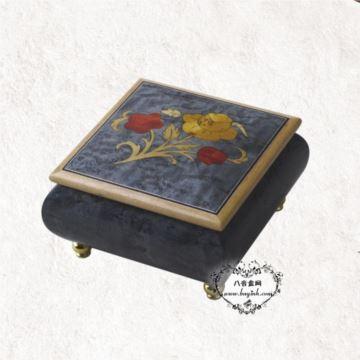 雷曼士30音木质八音盒音乐盒Y30MS1-D创意男送女生日闺蜜礼物精品婚庆
