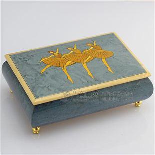 雷曼士30音木质首饰音乐盒八音盒Y30MS3-D创意闺蜜送女生日特别礼物精品