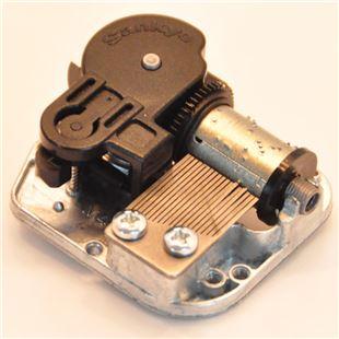 DIY音乐盒银色SANKYO机芯八音盒生日礼物 创意女生实用
