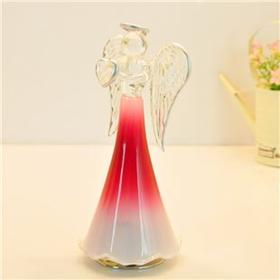 日本进口Sankyo18音玻璃旋转天使音乐盒八音盒天空之城 结婚礼物 创意送女生实用礼品