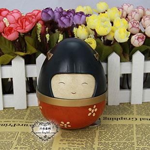 30音电影紫日同款和服娃娃八音盒音乐盒创意送女生日情人节礼物收藏
