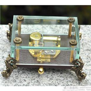 雷曼士18音音乐盒八音盒YB8L1商务创意送男女生日礼物精品可定制特别