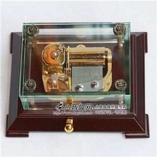雷曼士30音八音盒音乐盒Y30LB创意商务特别礼物精品高端大气上档次摆件