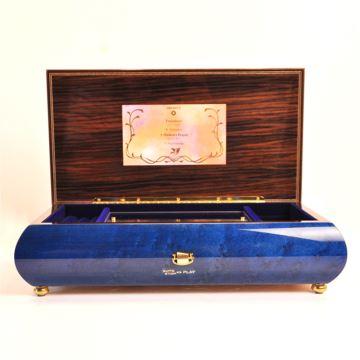 日本进口sankyo木质音乐盒八音盒首饰盒 意大利工艺 创意高档精品礼物品
